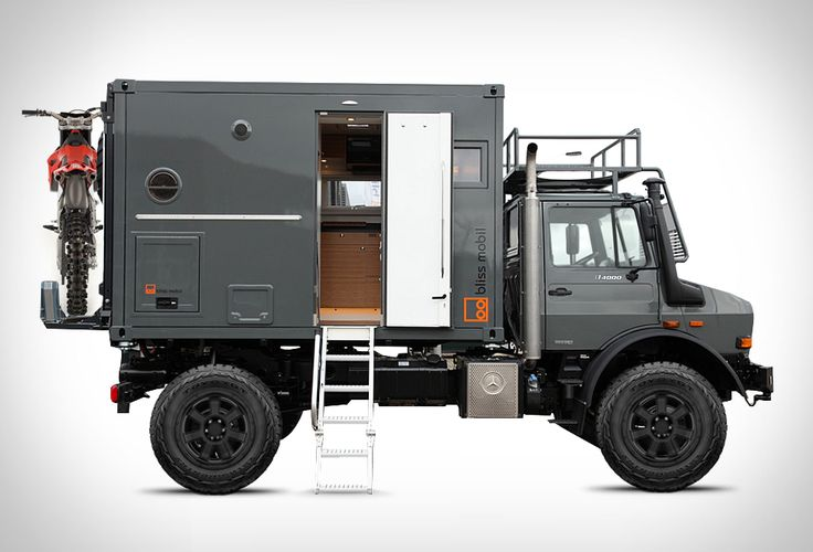 Aaaa Bliss Mobil Expedition Vehicle.  Cabin is sized for various sizes of wheel-bases, so adaptable and not tied to a specific vehicle