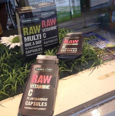 RAW Vitamine C en RAW Multi bij Vitaminstore Haarlemmerdijk Amsterdam