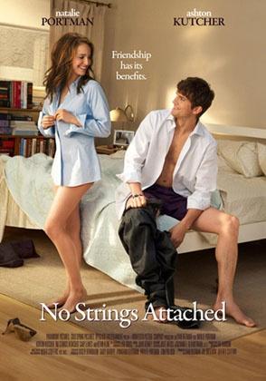 No Strings Attached- romantische komedie met Natalie Portman en Ashton Kutcher