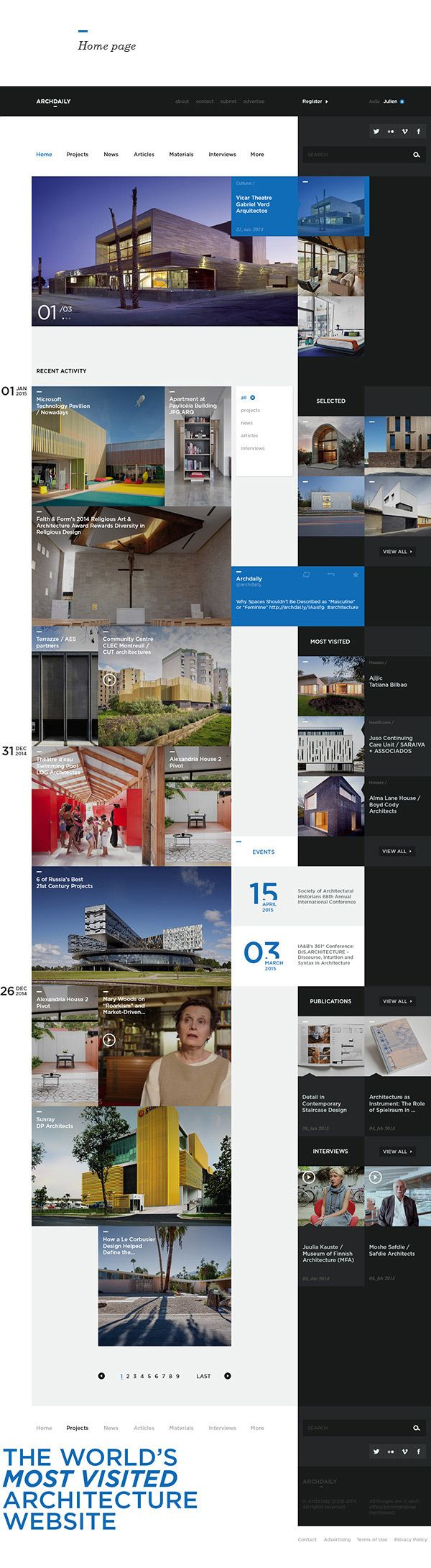 http://www.webdesignserved.com/gallery/Archdaily-Redesign-Study/23483641