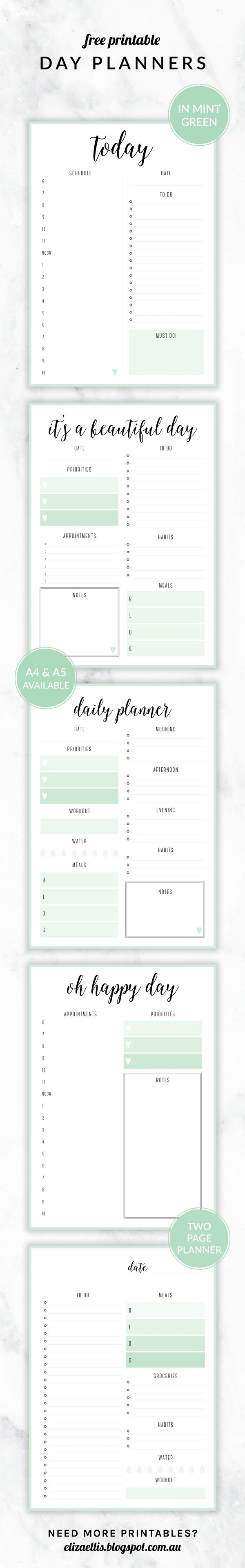 788 best PRINTABLES images on Pinterest | Free printables, Planner ...