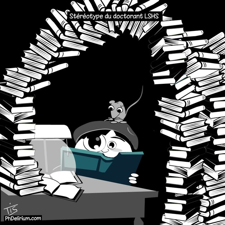 Stéréotype du doctorant: T'es un rat de bibliothèque ! - PhDelirium | PhDelirium