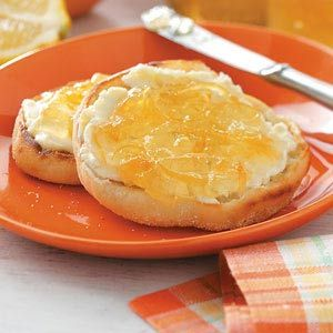 Lemon Marmalade Recipe ~ Lemons and grapefruit combine to create a tantalizing spread for English muffins, toast and even shortbread cookies!