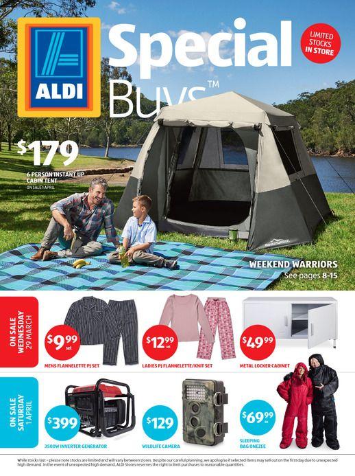 Aldi Catalogue Specials Week 13, 29 March - 4 April 2017 - http://olcatalogue.com/aldi/aldi-catalogue-specials.html