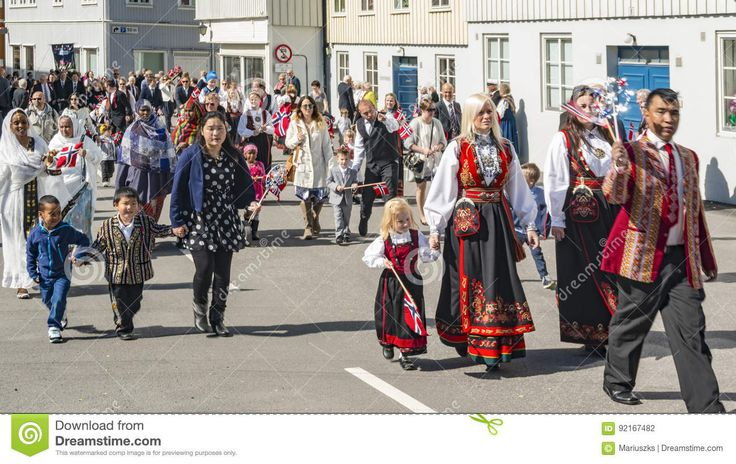 Multicultural Participants During The Independence Parade - Download From Over 59 Million High Quality Stock Photos, Images, Vectors. Sign up for FREE today. Image: 92167482