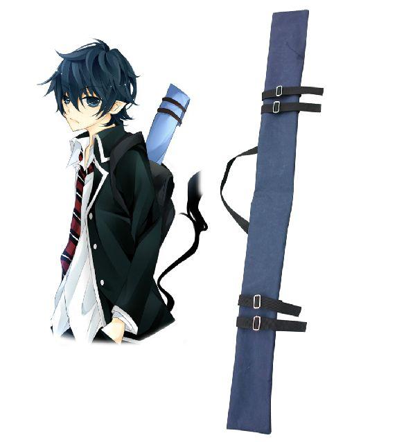 Ao no Exorcist Okumura Rin Sword Bag Blue Cosplay Accessories