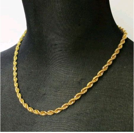 rope gold chains for men - Google Search