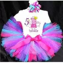 Tutu Disfraz Peppa Pig Bubble Guppies My Little Pony Doctora