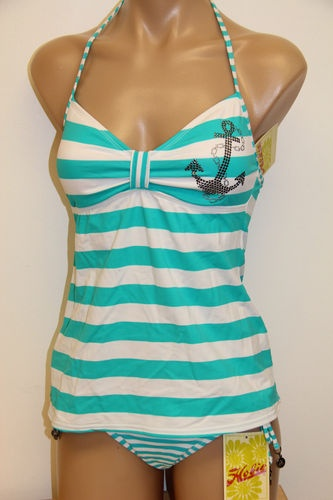 Dont really like the anchor, but super cute tankini