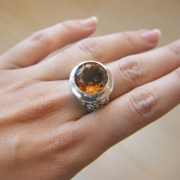 Deep Color Citrine: Deep Color, Colors, Color Citrine, Jewelry, Rings