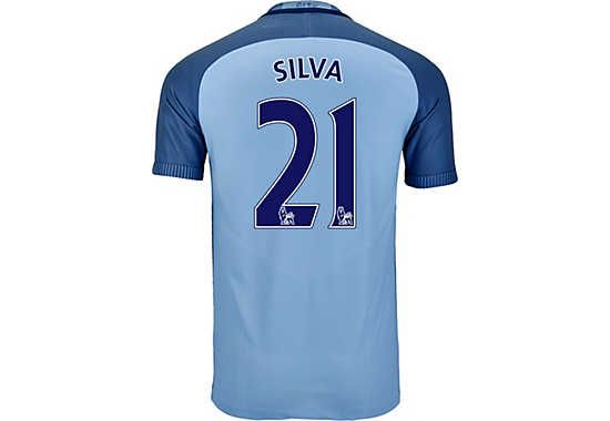 Authentic Match Version 2016/17 Nike Manchester City David Silva Home Jersey. It can be yours today. Shop for this and more at SoccerPro!