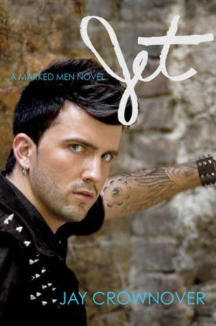 (Marked Men #2)  With his tight leather pants and a sharp edge that makes him dangerous, Jet Keller is every girl's rock and roll fantasy. But Ayden Cross is done walking on the wild side with bad boys. She doesn't want to give in to the heat she sees in Jet's dark, haunted eyes. She's afraid of getting burned from the sparks of their spontaneous combustion, even as his touch sets her on fire . . . 4.13 stars
