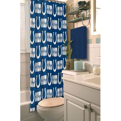 Northwest Co. NFL Colts Shower Curtain