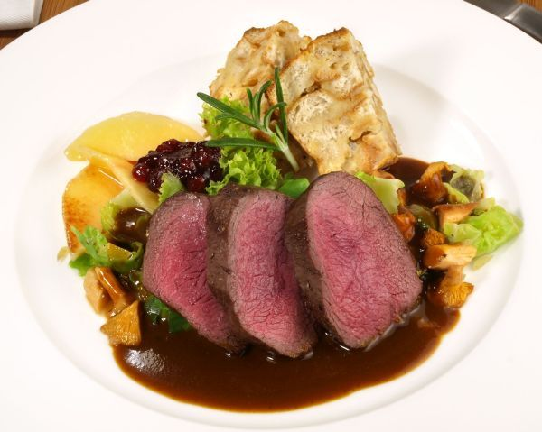 Lean, high protein organic game meat - Venison