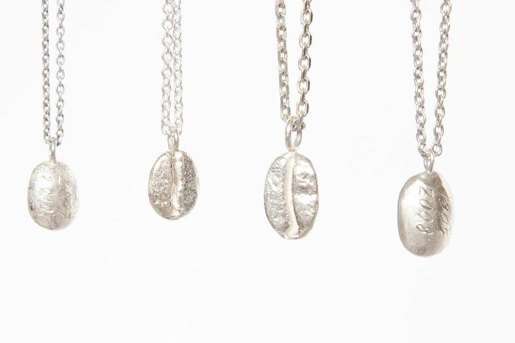Řetízek s malým zrnem, stříbrný | KAAWA