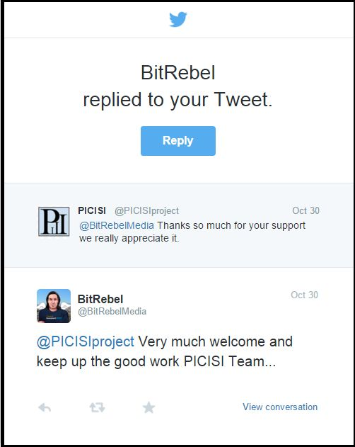 Words of Support for PICISI