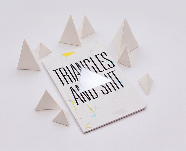 Desain Notes Book - Triangles and Shit