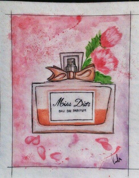 Miss Dior illustration