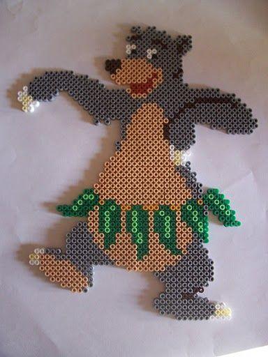 Baloo (The Jungle Book) hama perler beads