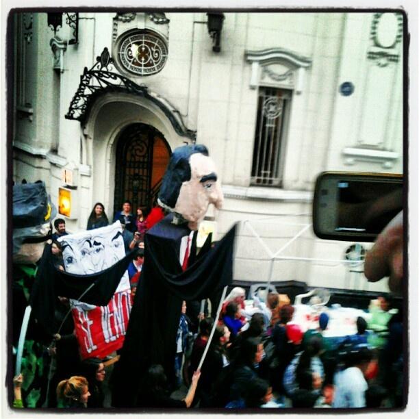#Protestas #estudiantiles #año #2011 #santiago #chile
