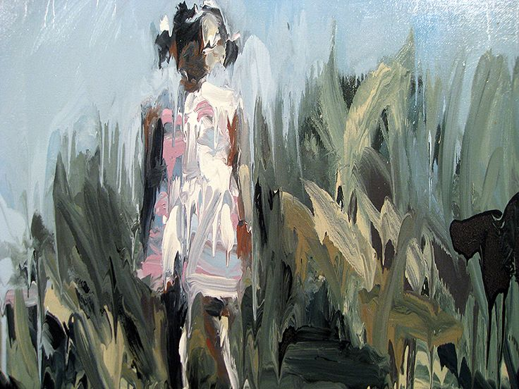 Blurry Scenes: The paintings of Laura Lancaster