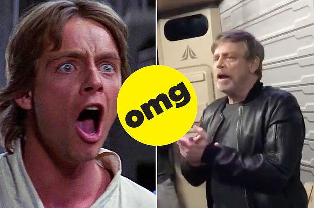 """Mark Hamill Surprising People On The """"Star Tours"""" Ride At Disneyland Is Literally The Purest Thing I've Seen All Week"""
