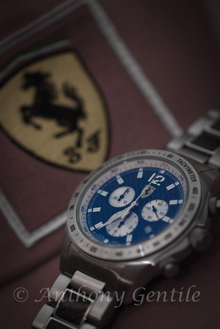 Scuderia Time #ferrari #Scuderia #watch #jewelry #anthonygentilephotography