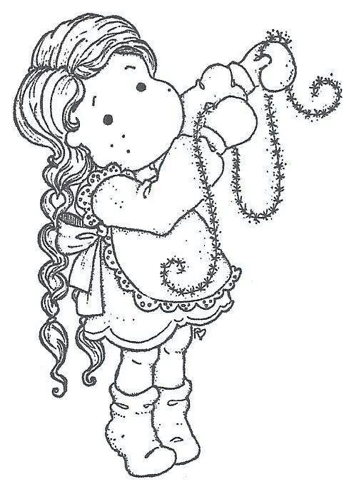 Sweet Dreams Christmas 2011 - Glittering Tilda