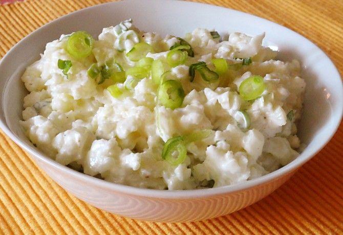 Majonézes karfiolsaláta Glaser konyhájából