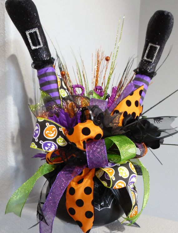 Hey, I found this really awesome Etsy listing at https://www.etsy.com/uk/listing/387117226/witch-cauldron-centerpiece-witch-legs