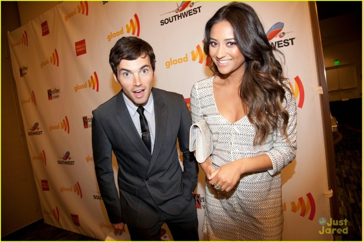 """Do you have """"A"""" burning question? Don't miss the chance to have your 'Pretty Little Liars' question answered by Shay Mitchell and Ian Harding during a live Ustream Video Chat today at 6PM ET/3PM PT!"""
