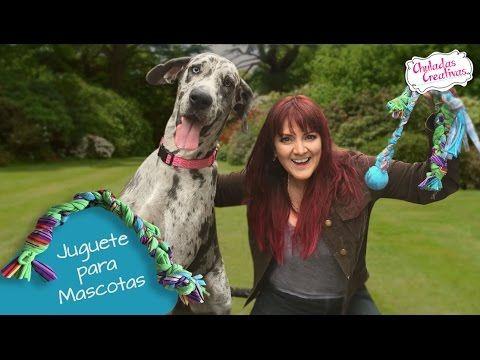 Juguete para Mascotas con trapitos :: Chuladas Creativas - YouTube