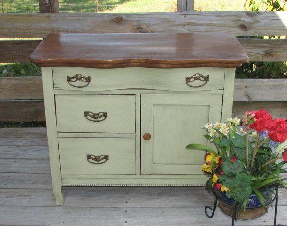 painted antique wash stands | visit etsy com