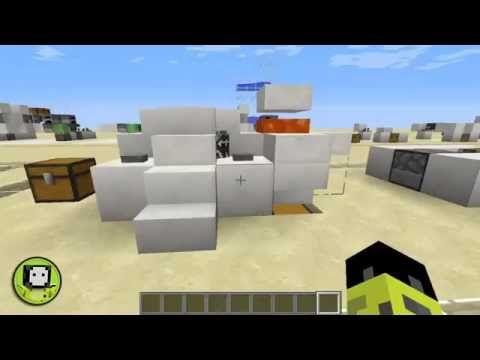 Minecraft | Granja compacta de vacas semi automática versión 1.9.2 Audio...