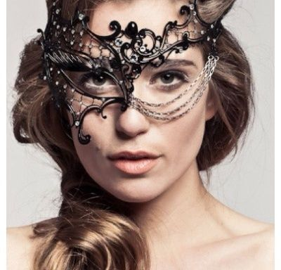 be the belle of the ball in this intricate filigreed mask handcrafted with rhinestones halloween masquerademasquerade costumesmasquerade - Halloween Costumes With A Masquerade Mask