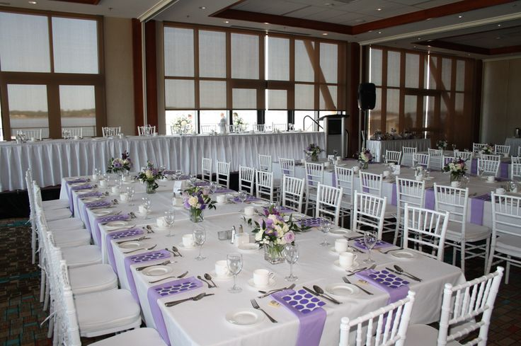 Harvest Tables in the Harbourview Room