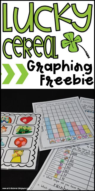 Lucky Charms Cereal Graphing Freebie