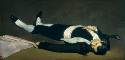 Edouard Manet, 'The Dead Toreador', probably 1864. National Gallery of Art…