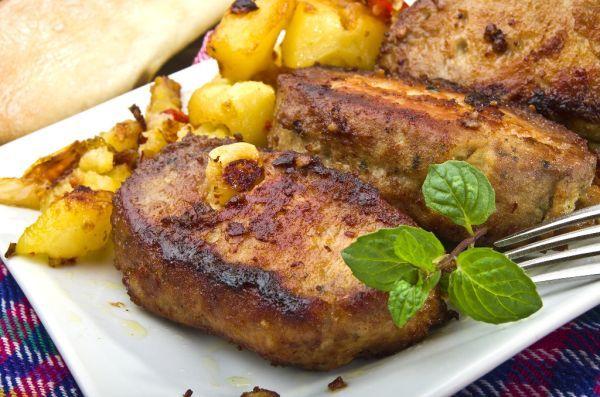 Neobvyklé rezne - Recept pre každého kuchára, množstvo receptov pre pečenie a varenie. Recepty pre chutný život. Slovenské jedlá a medzinárodná kuchyňa