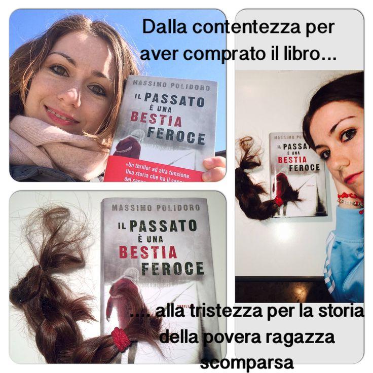La foto di Annalisa dice tutto sulle emozioni contrastanti che si provano leggendo #ilpassatoèunabestiaferoce http://www.massimopolidoro.com/il_passato_e_una_bestia_feroce/