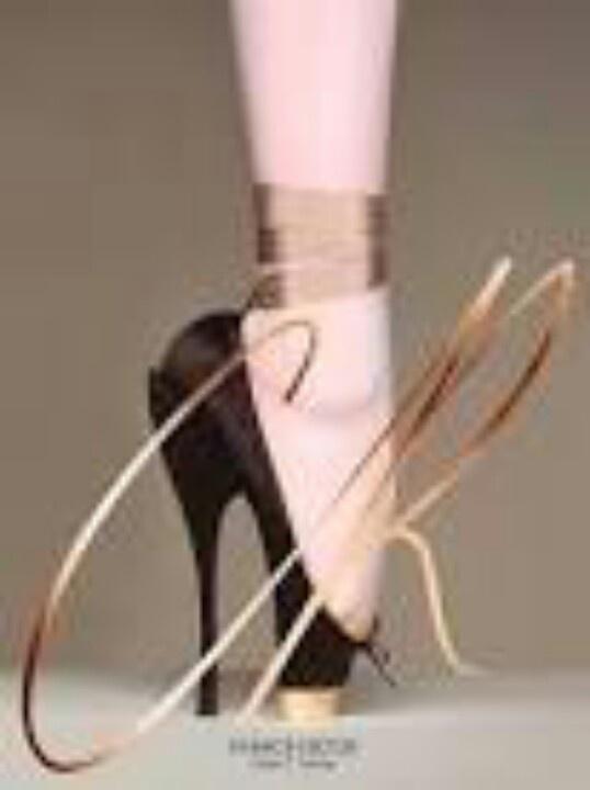 Ballet heel- ouch