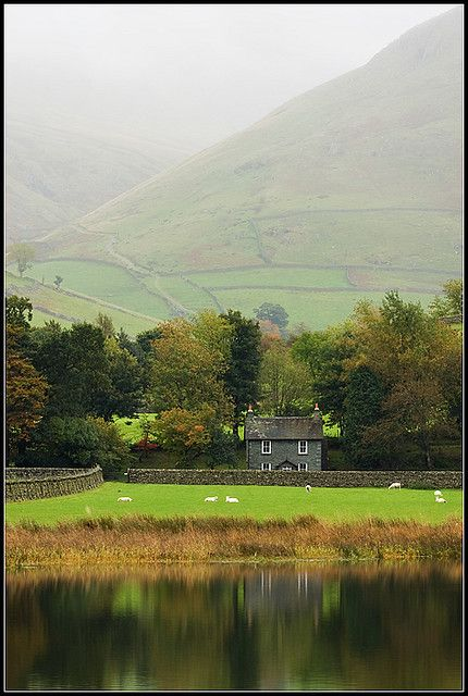 ~Cumbria Lake District~  #england  #cumbria  #lakedistrict  Doing it's lovely 'early morning thing'.