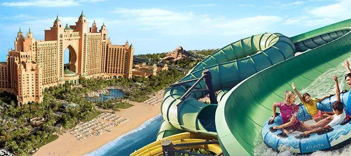 1. Atlantis, The Palm, Dubai. Top 10 Family Resorts International. Holidays with Kids