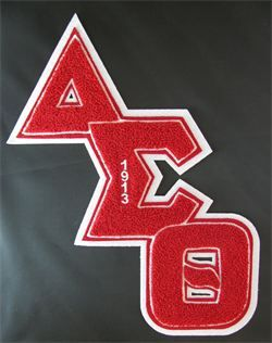 delta sigma theta greek letters 11 best varsity letter apparel ideas images on 21338
