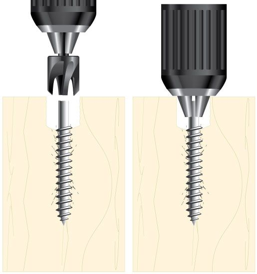 Broken Screw and Bolt Removal Using a Boring Bit