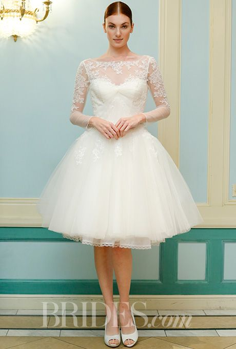 Truly zac posen spring 2016 wedding dress weddings for Wedding dress ideas for short brides