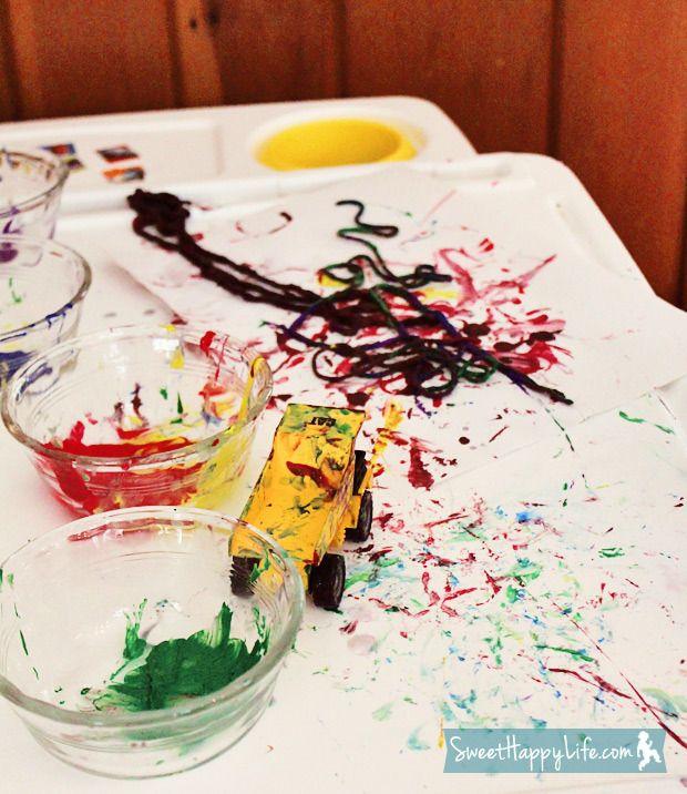 yarn painting preschool - photo #42