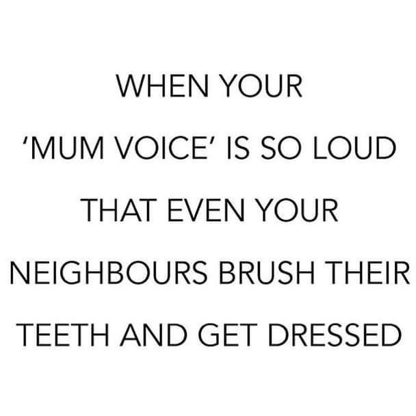 When you have to scream so loud at your children that it disturbs the neighbors : childfree