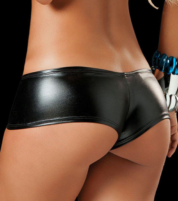 in and girls shorts Black bikini booty