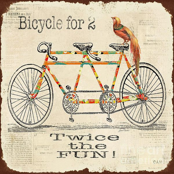 I uploaded new artwork to plout-gallery.artistwebsites.com! - 'Bicycle for 2'…